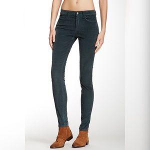 Joe's Jeans Skinny Visionaire Green Cords
